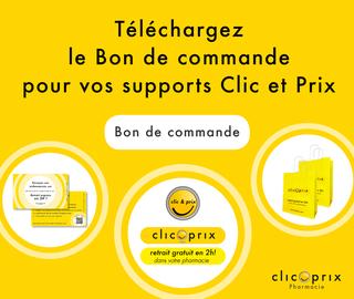 Bon de commande de supports Clic et Prix 2019